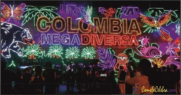 celebración navidad en Colombia